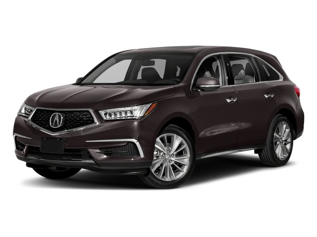 2018 Acura MDX Base Price FWD w/Technology/Entertainment Pkg Pricing side front view