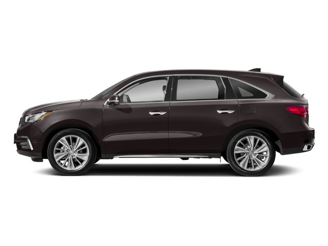 2018 Acura MDX Base Price FWD w/Technology/Entertainment Pkg Pricing side view