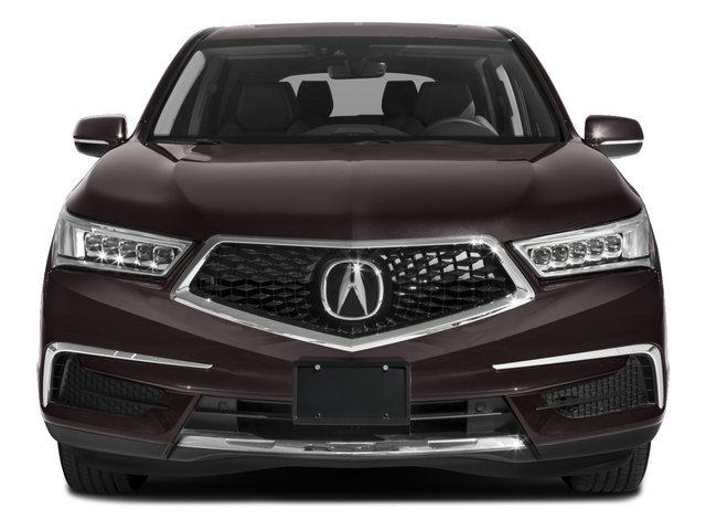2018 Acura MDX Base Price FWD w/Technology/Entertainment Pkg Pricing front view