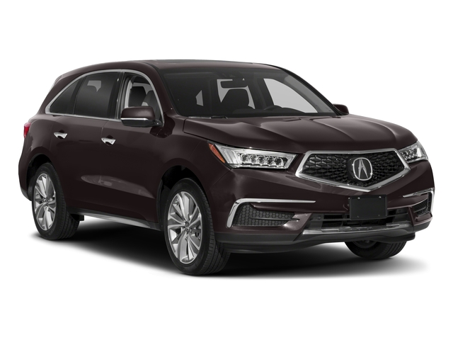 2018 Acura MDX Pictures MDX Utility 4D Technology DVD 2WD photos side front view