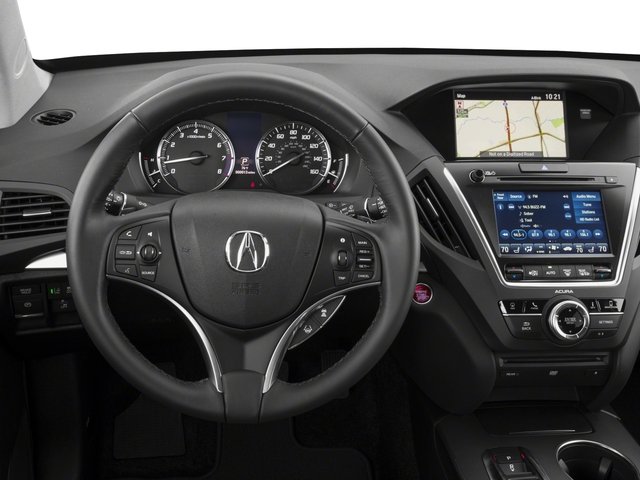 2018 Acura MDX Base Price FWD w/Technology/Entertainment Pkg Pricing driver's dashboard