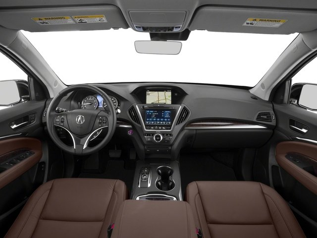 2018 Acura MDX Base Price FWD w/Technology/Entertainment Pkg Pricing full dashboard