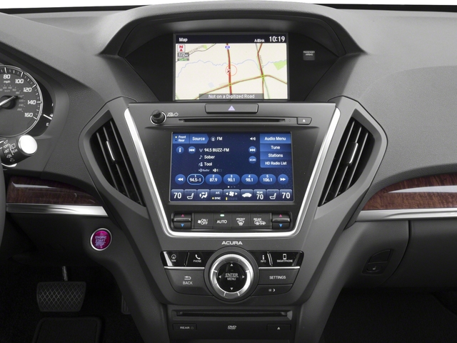 2018 Acura MDX Base Price FWD w/Technology/Entertainment Pkg Pricing stereo system