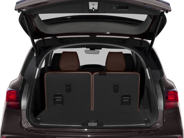 2018 Acura MDX Base Price FWD w/Technology/Entertainment Pkg Pricing open trunk