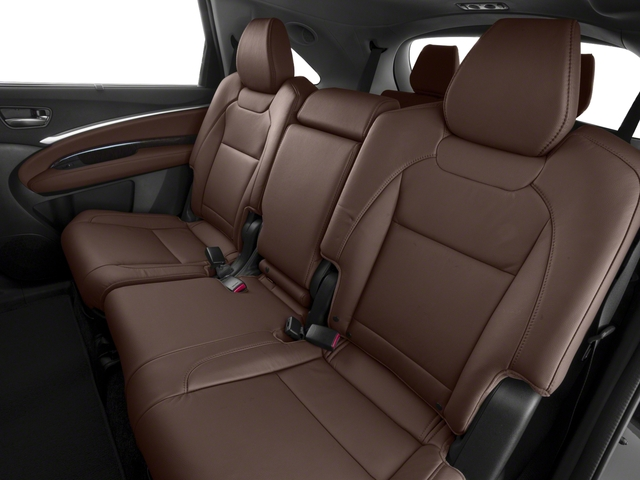2018 Acura MDX Base Price FWD w/Technology/Entertainment Pkg Pricing backseat interior