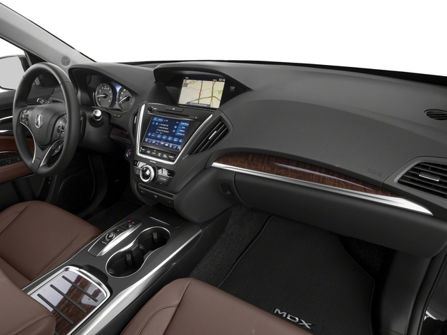 2018 Acura MDX Base Price FWD w/Technology/Entertainment Pkg Pricing passenger's dashboard