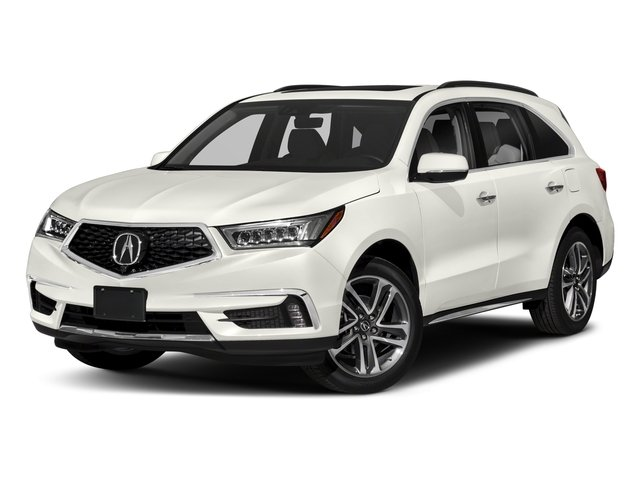 2018 Acura MDX Pictures MDX FWD w/Advance Pkg photos side front view