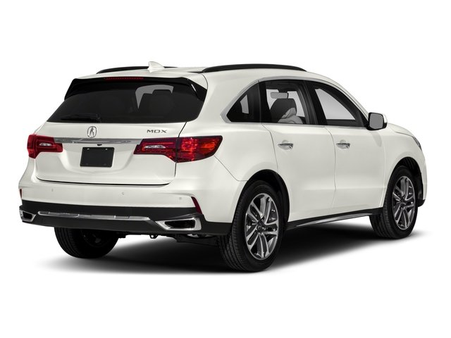 2018 Acura MDX Base Price FWD w/Advance Pkg Pricing side rear view