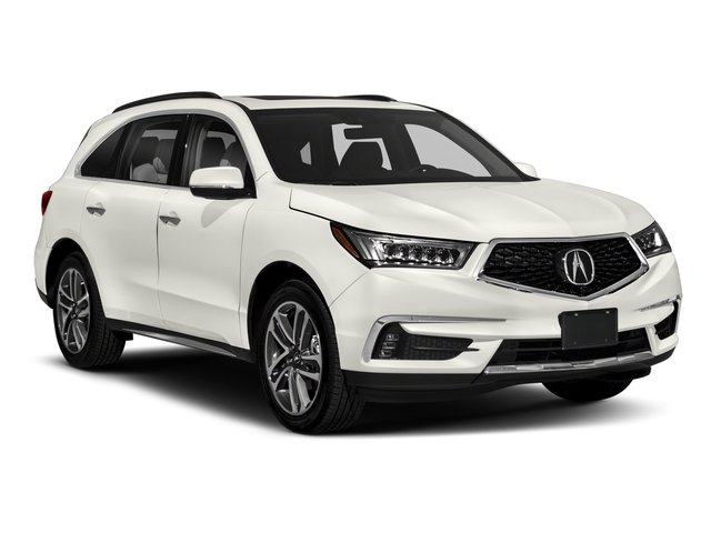 2018 Acura MDX Prices and Values Utility 4D Advance 2WD side front view