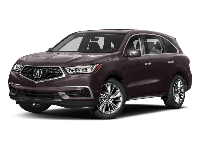 2018 Acura MDX Base Price SH-AWD w/Technology Pkg Pricing side front view