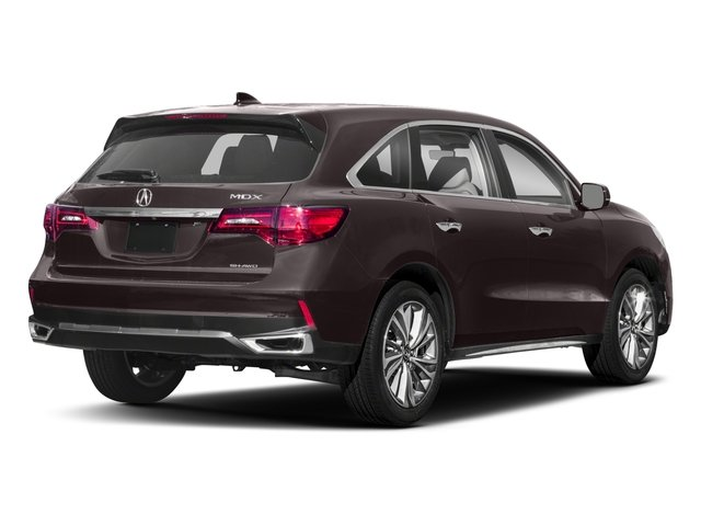 2018 Acura MDX Base Price SH-AWD w/Technology Pkg Pricing side rear view