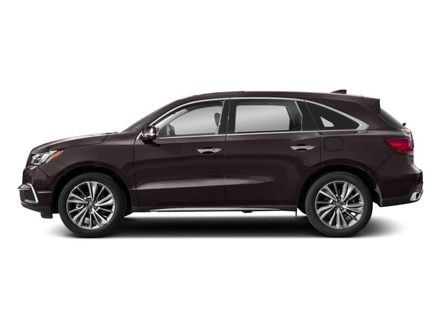2018 Acura MDX Base Price SH-AWD w/Technology Pkg Pricing side view