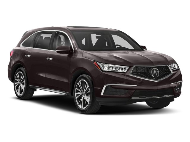 2018 Acura MDX Prices and Values Utility 4D Technology AWD side front view