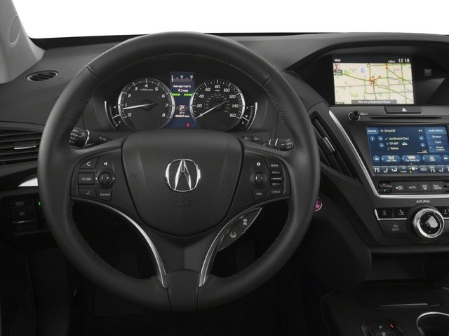 2018 Acura MDX Base Price SH-AWD w/Technology Pkg Pricing driver's dashboard