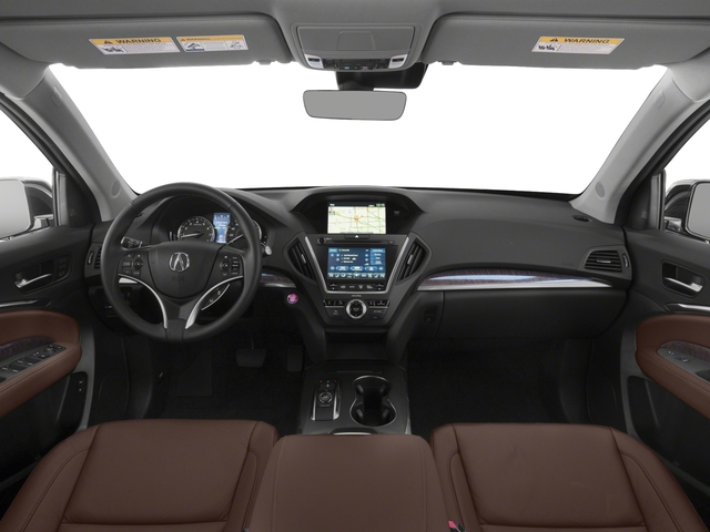 2018 Acura MDX Base Price SH-AWD w/Technology Pkg Pricing full dashboard