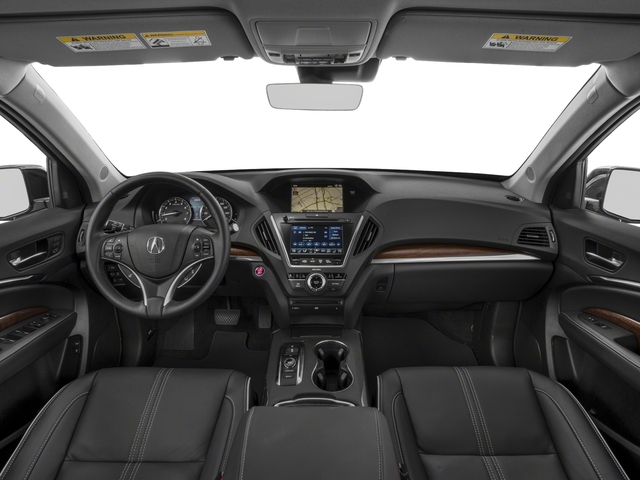 2018 Acura MDX Pictures MDX FWD w/Advance/Entertainment Pkg photos full dashboard