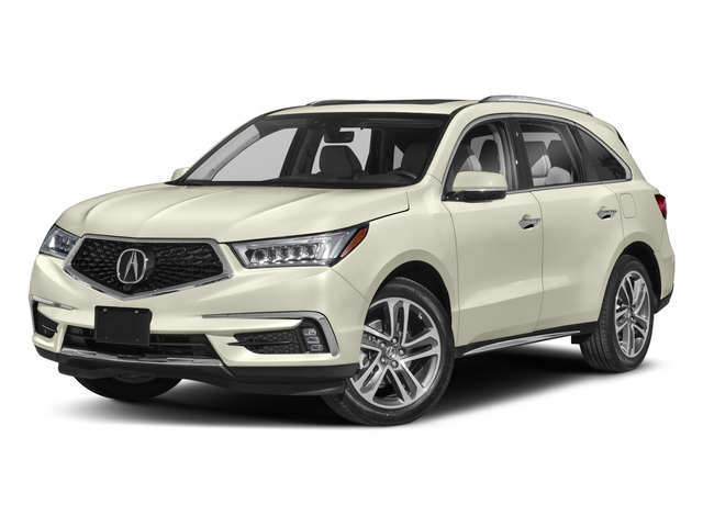 2018 Acura MDX Pictures MDX SH-AWD w/Advance/Entertainment Pkg photos side front view