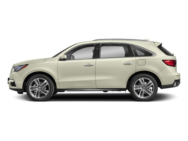 2018 Acura MDX Prices and Values Utility 4D Advance DVD AWD side view