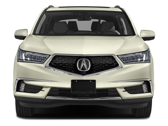 2018 Acura MDX Prices and Values Utility 4D Advance DVD AWD front view