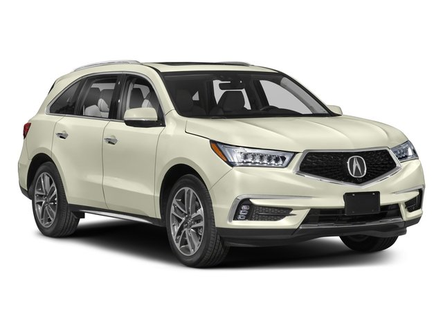 2018 Acura MDX Prices and Values Utility 4D Advance DVD AWD side front view