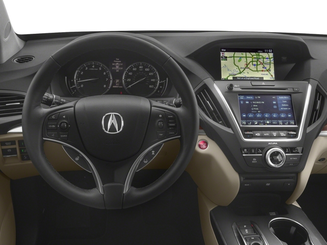 2018 Acura MDX Prices and Values Utility 4D Advance DVD AWD driver's dashboard