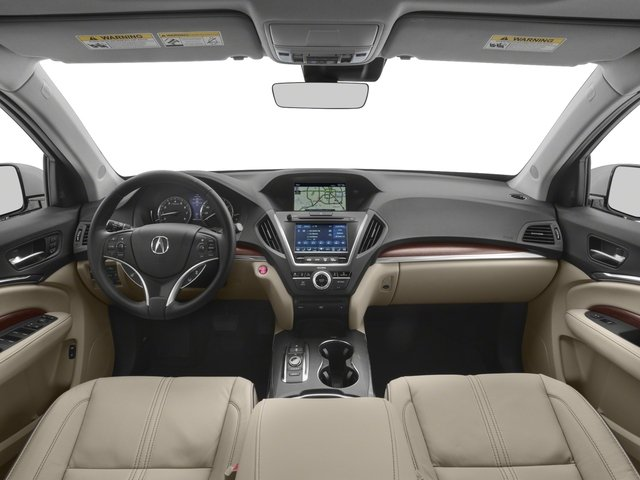 2018 Acura MDX Prices and Values Utility 4D Advance DVD AWD full dashboard