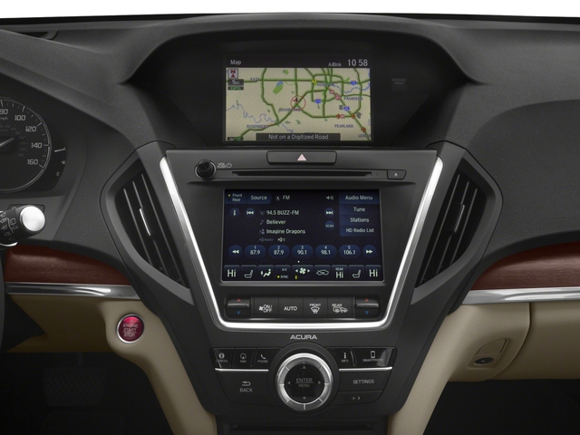 2018 Acura MDX Base Price SH-AWD w/Advance/Entertainment Pkg Pricing stereo system