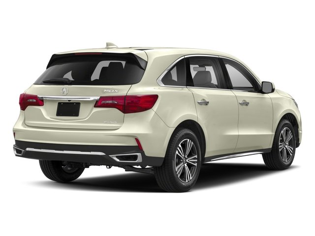 2018 Acura MDX Pictures MDX Utility 4D AWD photos side rear view
