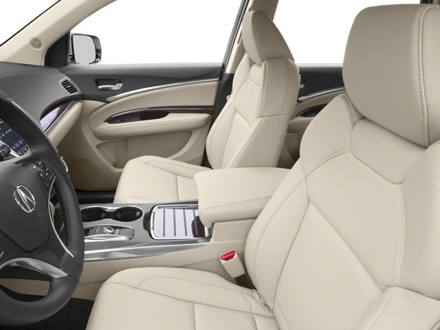 2018 Acura MDX Base Price SH-AWD Pricing front seat interior