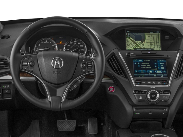 2018 Acura MDX Pictures MDX SH-AWD w/Technology/Entertainment Pkg photos driver's dashboard