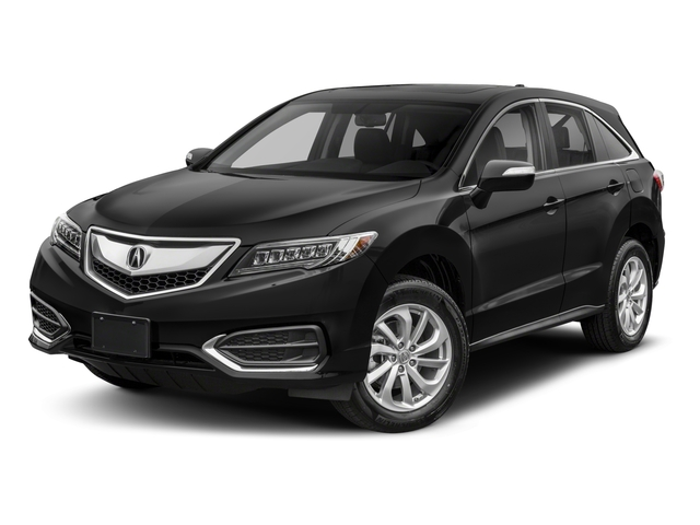 2018 Acura RDX Pictures RDX AWD w/Technology Pkg photos side front view