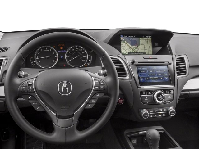 2018 Acura RDX Pictures RDX Utility 4D Technology AWD V6 photos driver's dashboard