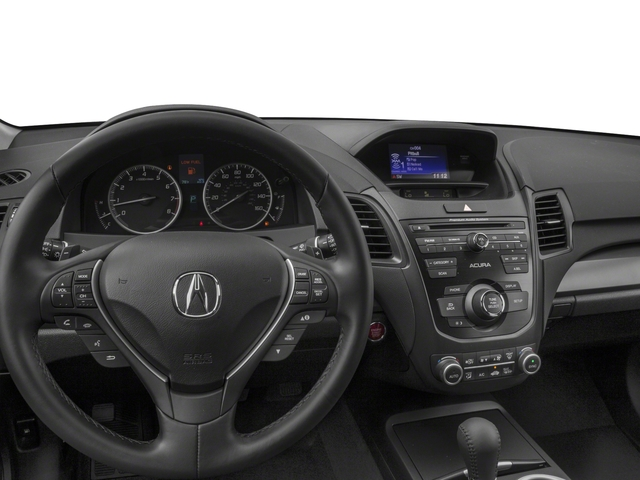 2018 Acura RDX Prices and Values Utility 4D 2WD V6 driver's dashboard
