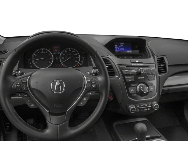 2018 Acura RDX Pictures RDX Utility 4D 2WD V6 photos driver's dashboard
