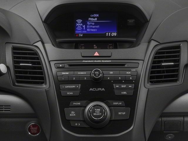 2018 Acura RDX Prices and Values Utility 4D 2WD V6 stereo system