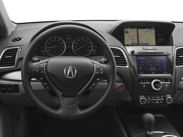 2018 Acura RDX Base Price FWD w/Technology Pkg Pricing driver's dashboard