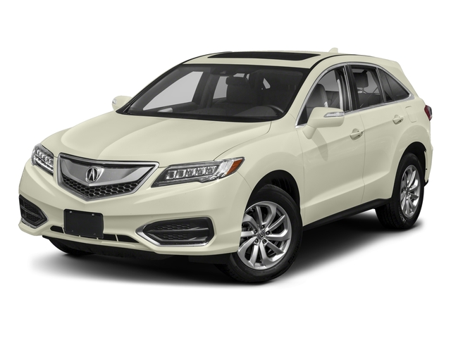 2018 Acura RDX Base Price FWD w/AcuraWatch Plus Pricing side front view