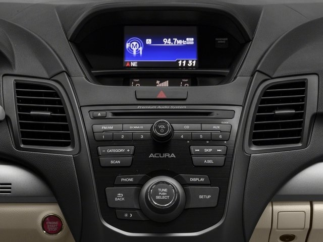 2018 Acura RDX Base Price FWD w/AcuraWatch Plus Pricing stereo system