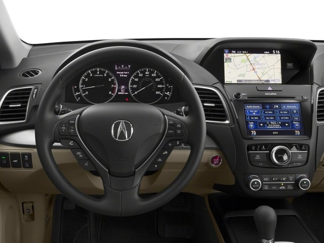 2018 Acura RDX Base Price FWD w/Technology/AcuraWatch Plus Pkg Pricing driver's dashboard