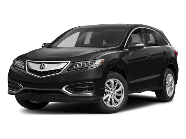2018 Acura RDX Pictures RDX AWD w/Technology/AcuraWatch Plus Pkg photos side front view