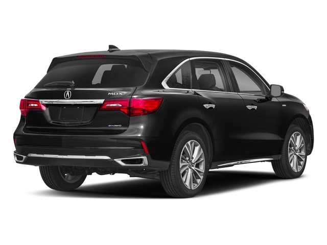 2018 Acura MDX Base Price SH-AWD Sport Hybrid w/Technology Pkg Pricing side rear view