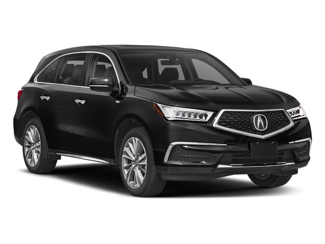 2018 Acura MDX Pictures MDX Utility 4D Technology AWD Hybrid photos side front view