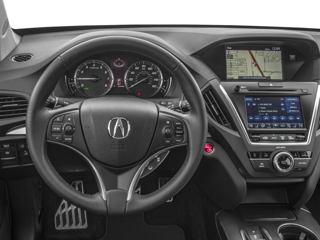 2018 Acura MDX Base Price SH-AWD Sport Hybrid w/Technology Pkg Pricing driver's dashboard