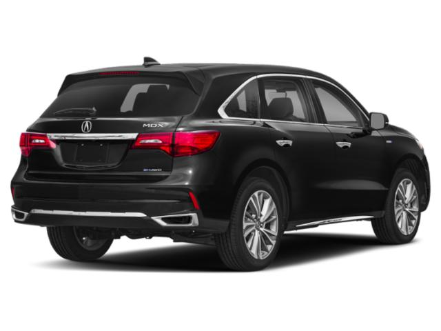 2018 Acura MDX Prices and Values Utility 4D Advance AWD Hybrid side rear view