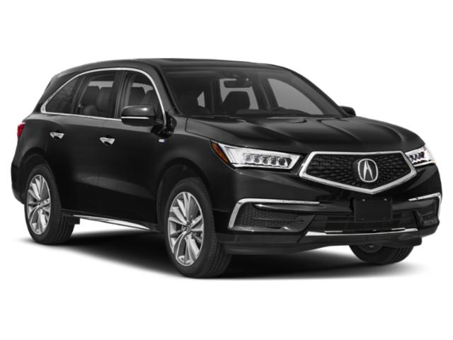 2018 Acura MDX Prices and Values Utility 4D Advance AWD Hybrid side front view