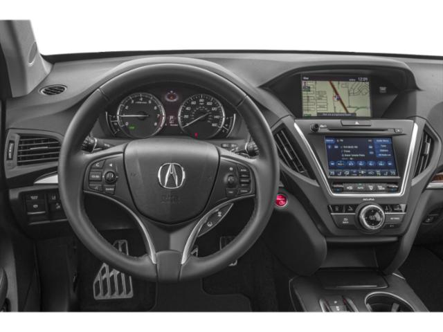 2018 Acura MDX Prices and Values Utility 4D Advance AWD Hybrid driver's dashboard
