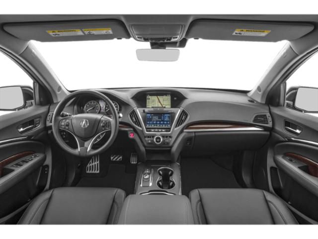 2018 Acura MDX Prices and Values Utility 4D Advance AWD Hybrid full dashboard