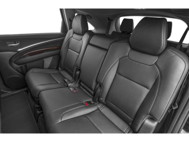 2018 Acura MDX Prices and Values Utility 4D Advance AWD Hybrid backseat interior