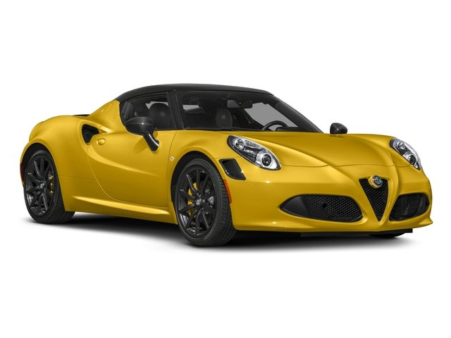 2018 Alfa Romeo 4C Coupe Prices and Values Coupe 2D side front view