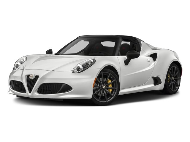 2018 Alfa Romeo 4c Spider Base Price Pricing Side Front View